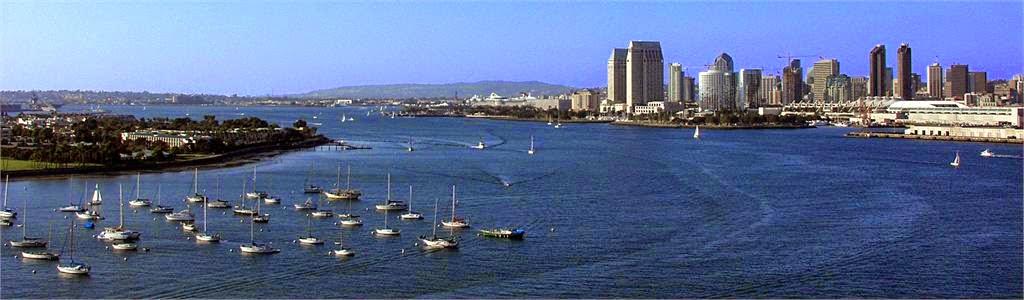 Залив Сан-Диего – один из самых больших в мире портов, созданных самой природой