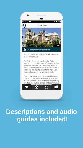 PARIS City Guide, Offline Maps and Tours screenshot 5
