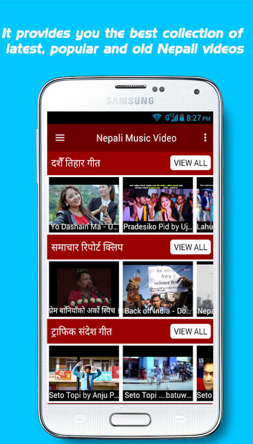 Nepali Music Video- screenshot