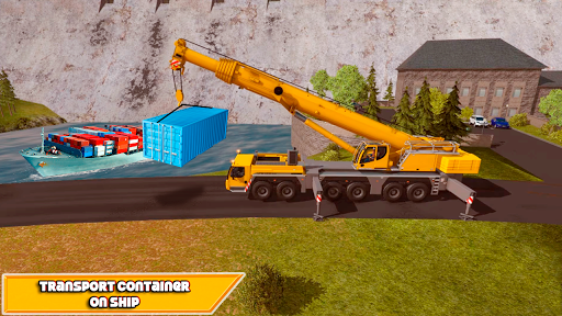 Crane Real Simulator Fun Game 2020  screenshots 4
