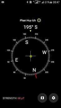Digtal Compass Map
