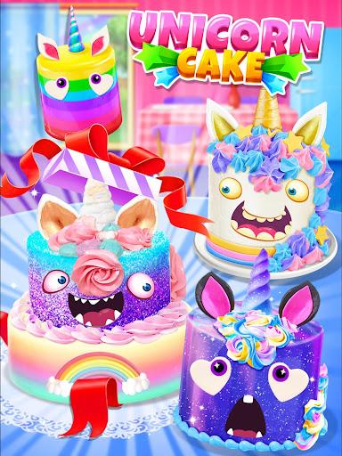 Unicorn Food - Cake Bakery 2.1 Screenshots 17