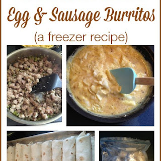 Egg & Sausage Burritos