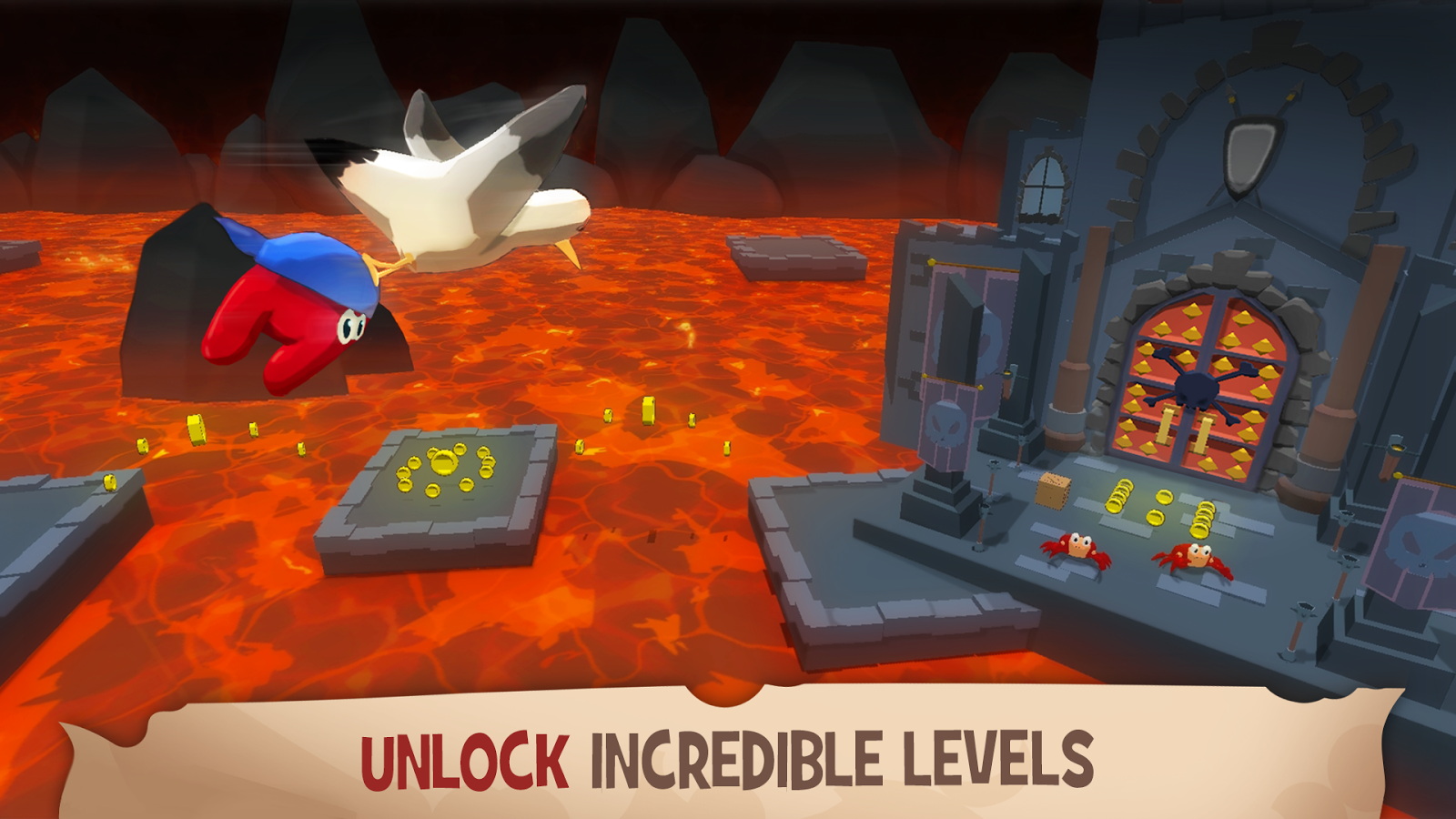 Kraken Land : Platformer Adventures- screenshot