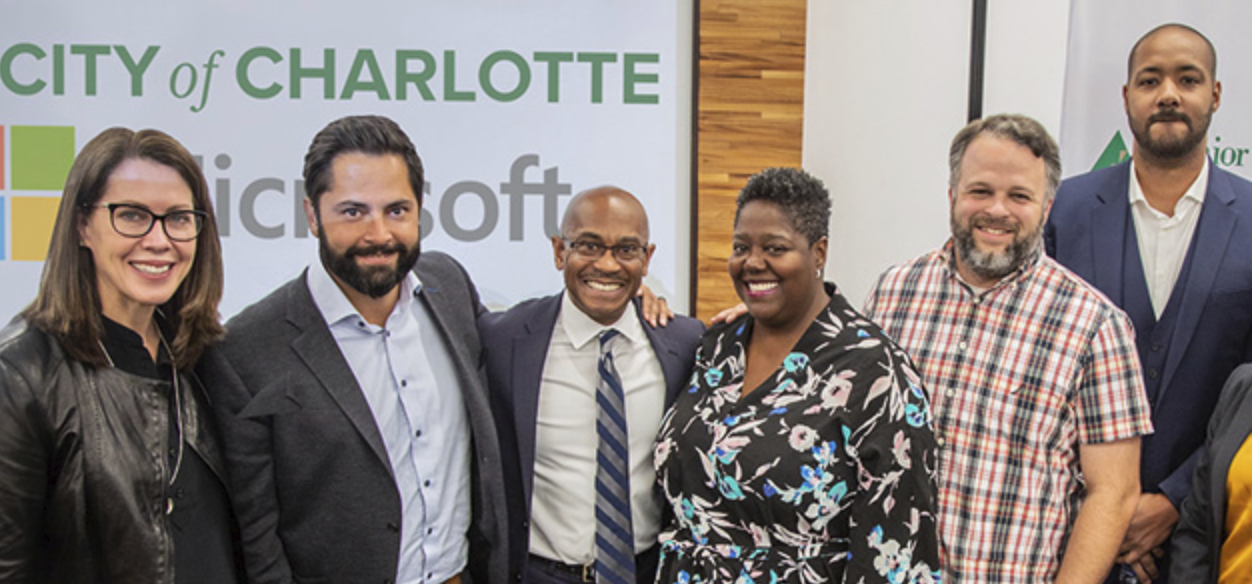 Microsoft helps Charlotte with smart city goals