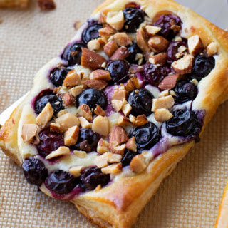 Blueberry Almond Cream Cheese Danish