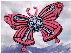 Photo: Wenchkin's Mail Art 366 - Day 118. card 118g