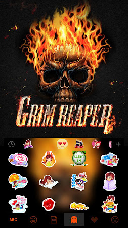 Grim ReaperKika Emoji Keyboard 23.0 screenshot 1894775