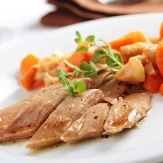 Slow Cooker Wild Duck Breast L'Orange.