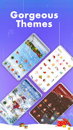 Hello Launcher - Love Emoji & 3D Wallpapers, GIFs APK screenshot thumbnail 4