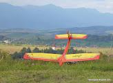 Photo: ...koniec septembra leto končí, dolu Necpaly. Hore Fatranský Kriváň, vľavo   klesá údolie pod Pekelníkom -600m !