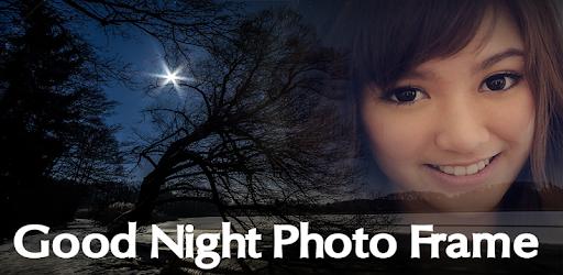 good night photo frame app download