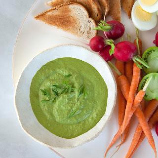 Spicy Kale-Pistachio Dip