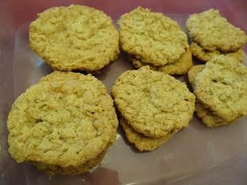 Gluten Free Oatmeal Toffee Cookies