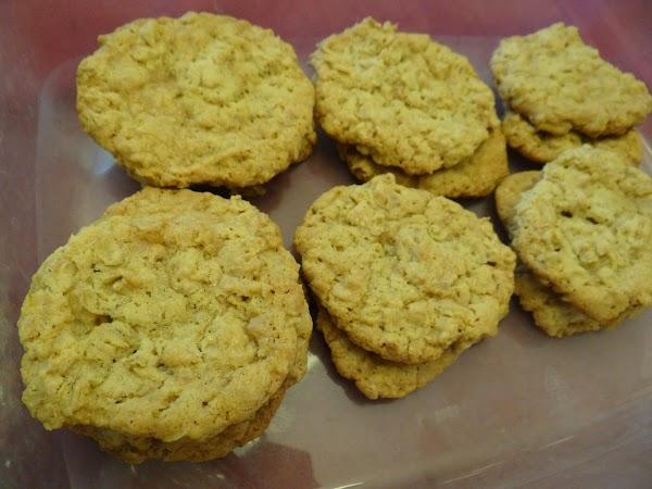 Gluten Free Oatmeal Toffee Cookies Recipe