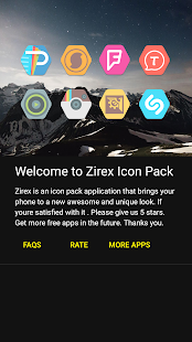 Zirex - Icon Pack Screenshot