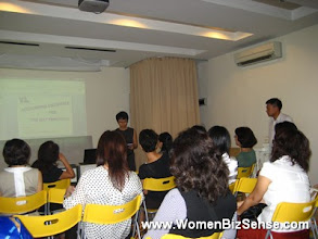 Photo: Siew Yean, our Recreation committee, introduces Mr Lim Keat Nee, a certified accountant and partner at Y&L Secretarial Services. Mr Lim was our guest speaker.
