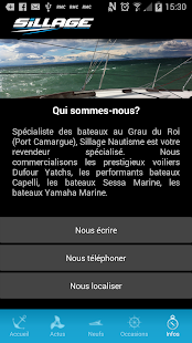 Sillage Nautisme- screenshot thumbnail