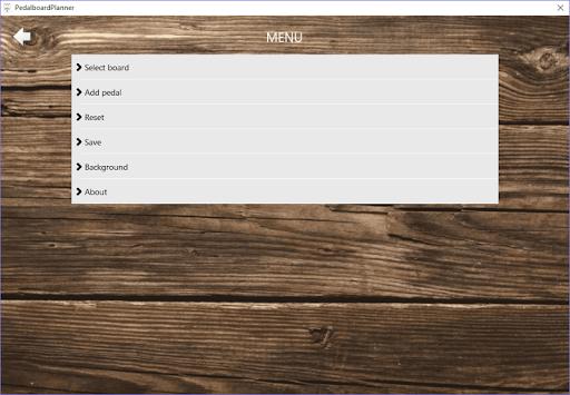 PedalboardPlanner 1.0.333.19955 screenshots 1