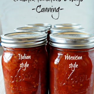 Canning Crushed Tomatoes