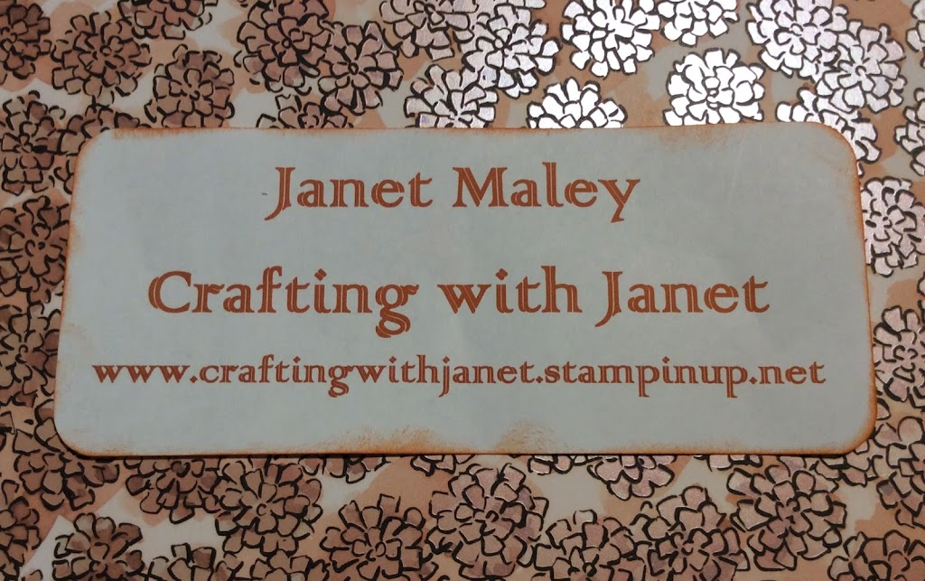 Crafting with Janet Logo