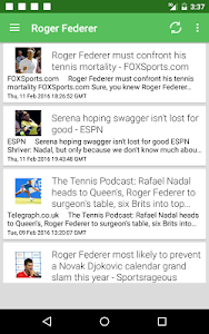 Tennis News Surge screenshot 9