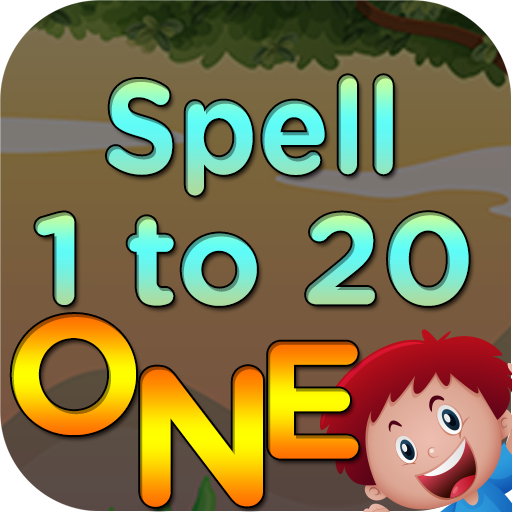 Kids 1 to 20 Numbers Spelling (game)