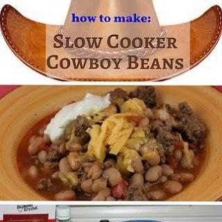 Slow Cooker Cowboy Beans.