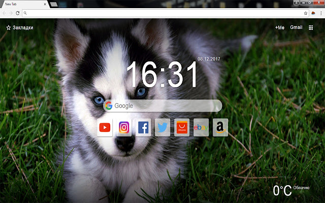 Cute Dogs - New Tab Wallpapers Themes HD