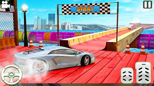 Code Triche Nouveau voiture conduite impossible voiture course apk mod screenshots 2