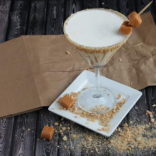 Caramel Cheesecake Martini.