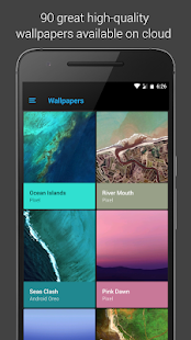 Pixel Dark Icon Pack - Apex/Nova/Go Screenshot