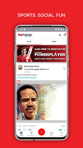 Funngage - Transforming Sports Digitally Apk 1