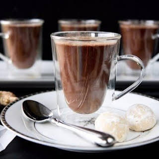 Ginger Hot Chocolate.