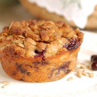 Sunflower Crumb Muffins.