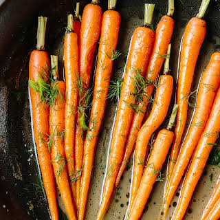 Diane Morgan's Baby Carrots with Dill.