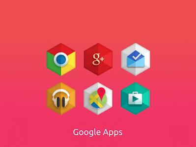 Kent hexagon icon pack Premium v1.2.8