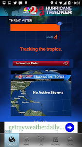Hurricane Tracker WESH 2 screenshot 0