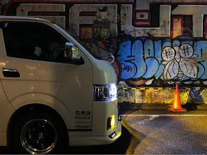 ハイエース TRH200Vのカスタム事例画像 mr-ace【青党】さんの2021年01月24日20:41の投稿