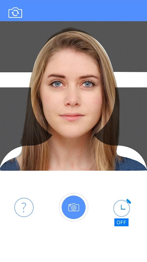 Passport Photo Booth - Take & Print ID Pictures- screenshot