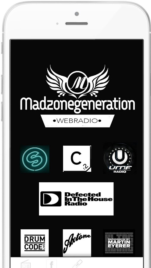 Madzonegeneration Webradio- screenshot