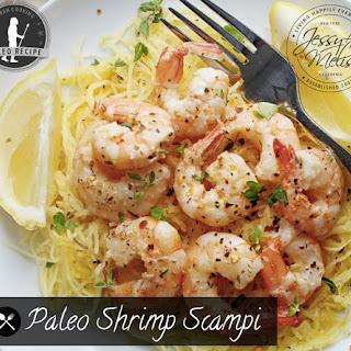 Paleo Shrimp Scampi