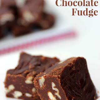 Traditional Chocolate Fudge