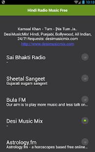 Hindi Radio Music Free - náhled