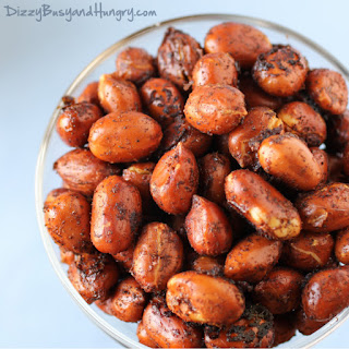 Chipotle Lime Roasted Peanuts.
