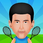 Circular Tennis 2 Player Games icon