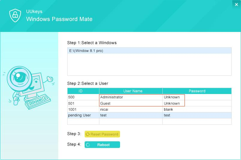 How to Break Windows 7/8/10 Login Password with UUkeys Software