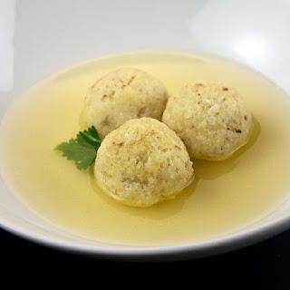 Classic Matzo Ball Soup