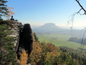 Photo: Lilienstein, Blick vom Pfaffenstein