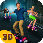 Hoverboard Stunts Racing 3D Icon